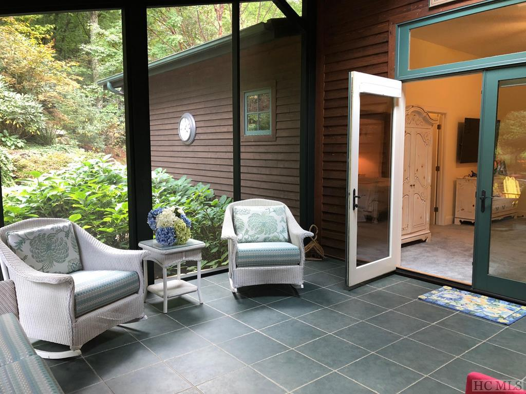 Porch off Master Bedroom
